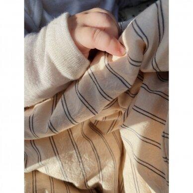 "Konges Slojd patalynės užvalkalai ,,Stripes"" (70x100 cm) 3"