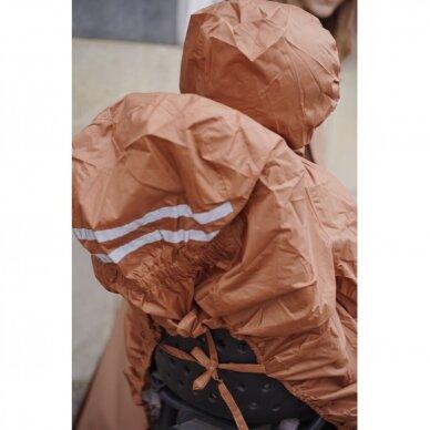 """Konges Slojd vaiko apsauga nuo lietaus ,,Cognac"""""""