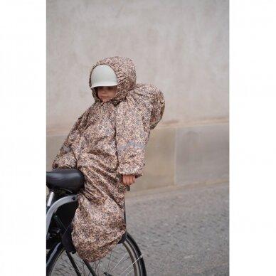 "Konges Slojd vaiko apsauga nuo lietaus ,,Orangery beige"""