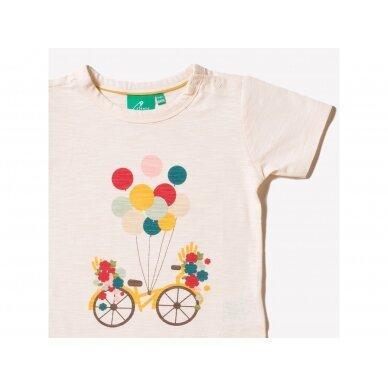 "Little Green Radicals marškinėliai ,,Flying high"" 2"