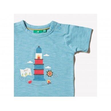 """Little Green Radicals marškinėliai ,,Island adventure"""" 2"""