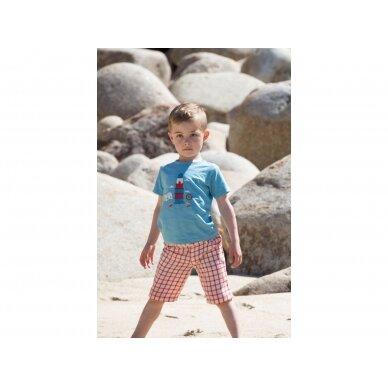 """Little Green Radicals marškinėliai ,,Island adventure"""" 3"""