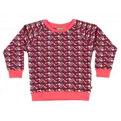 "Little green radicals megztinis ""Miško gėlės"""