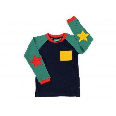 """Little green radicals megztinis ,,Mėlynas"""""""