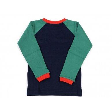 """Little green radicals megztinis ,,Mėlynas"""" 2"""