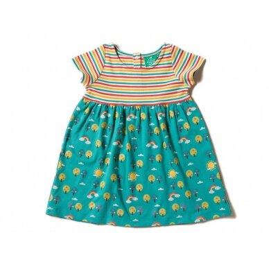 """Little Green Radicals suknelė ,,Vaivorykštė"""""""
