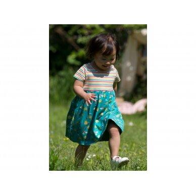 """Little Green Radicals suknelė ,,Vaivorykštė"""" 2"""