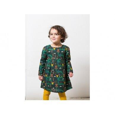 "Little green radicals suknelė ""Miškas"" 3"