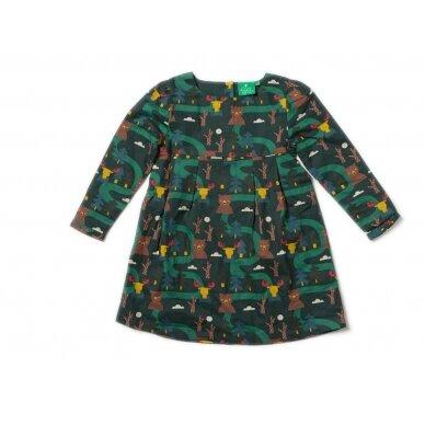"Little green radicals suknelė ""Miškas"""