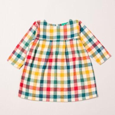 "Little Green Radicals suknelė ,,Rainbow Check"""