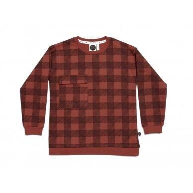 """Mainio megztinis """"Langeliai"""""""
