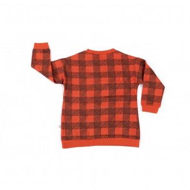 """Mainio megztinis """"Langeliai"""" 2"""