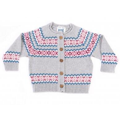 Kite megztinis su sagutėmis