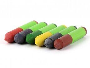 ökoNORM vaško kreidelės natūralios tekstilės gaminiams (6 spalvos)