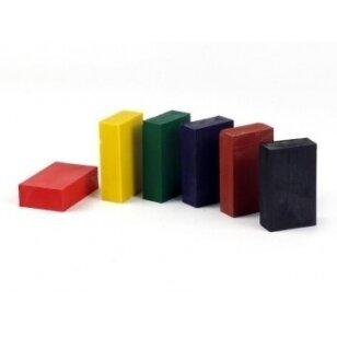 ökoNORM spalvoti vaško blokeliai (6 spalvos)