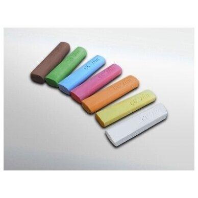 ökoNORM spalvota piešimo kreida (7 spalvos)