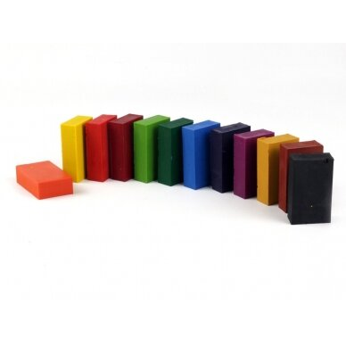 ökoNORM spalvoti vaško blokeliai (12 spalvų)