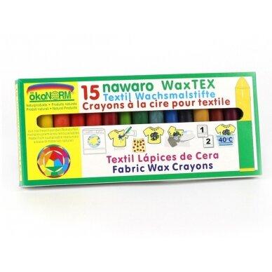 ökoNORM vaško kreidelės natūralios tekstilės gaminiams (15 spalvų) 3