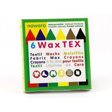 ökoNORM vaško kreidelės natūralios tekstilės gaminiams (6 spalvos) 3