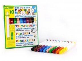 ökoNORM flomasteriai (10 spalvų)