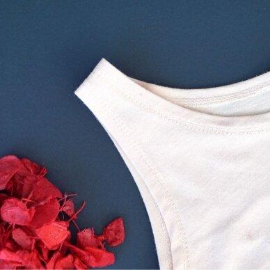 """Orbasics marškinėliai ,,Cloud white"""" 2"""