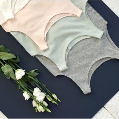 "Orbasics marškinėliai ,,Aqua grey"" 2"
