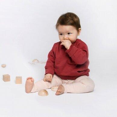 "Orbasics megztinis ,,Oh-So cozy: pomegranate"" 4"