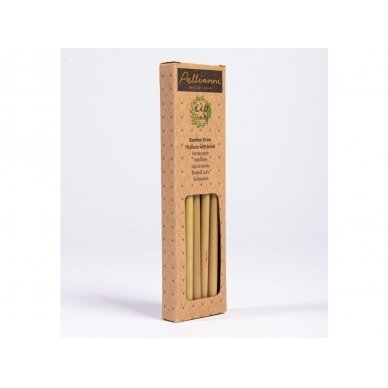 Pellianni daugkartiniai bambukiniai šiaudeliai 2
