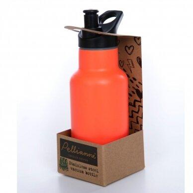 """Pellianni sportinė gertuvė ,,Orange"""" (350 ml) 4"""