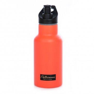 """Pellianni sportinė gertuvė ,,Orange"""" (350 ml)"""