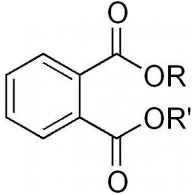 Sveikatai pavojingos medžiagos - ftalatai