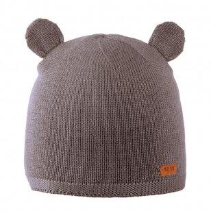 """Pure Pure kepurė iš merino vilnos ,,Grey"""""""