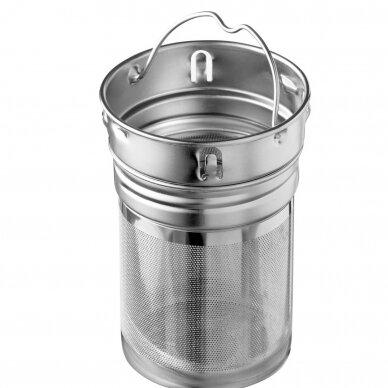 """Pulito stiklinė gertuvė arbatai su sieteliu ,,Pure tea mug"""" (500 ml) 4"""