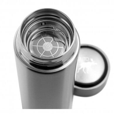 """Pulito gertuvė-termosas su sieteliu ,,Pure Thermo bottle"""" (400 ml) 3"""