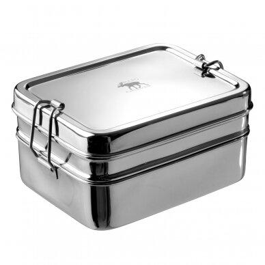 """Pulito pietų dėžutė ,,Lunch Box 3 in 1"""" (medium)"""