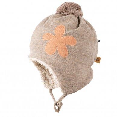 """Pure Pure kepurė su raišteliais ,,Flower"""""""