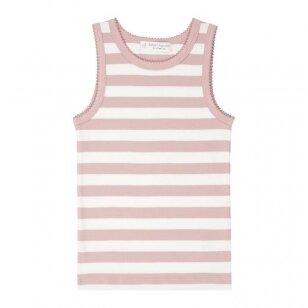"""Sense Organics apatiniai marškinėliai ,,Rose stripes"""""""