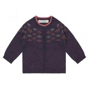 "Sense Organics megztinis ,Aubergine pattern"""