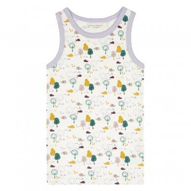 """Sense Organics apatiniai marškinėliai ,,Hedgehogs"""""""