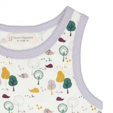 """Sense Organics apatiniai marškinėliai ,,Hedgehogs"""" 3"""