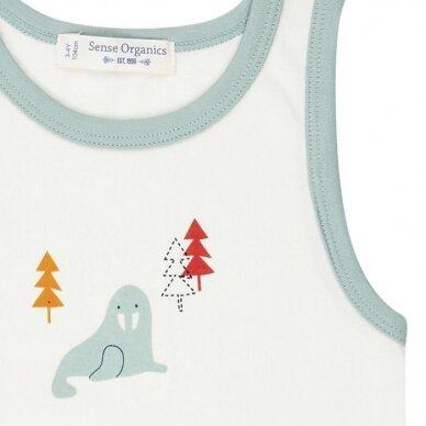 """Sense Organics apatiniai marškinėliai ,,Walrus"""" 2"""