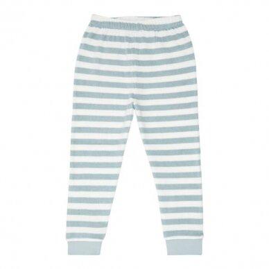 "Sense Organics kilpinio audinio pižama ,,Aqua stripes"" 6"