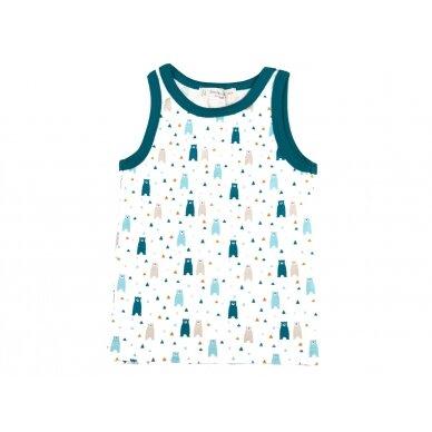"""SENSE ORGANICS marškinėliai ,,Meškiukai"""""""