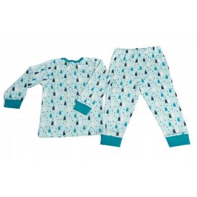 "SENSE ORGANICS pižama ,,Meškiukai"""
