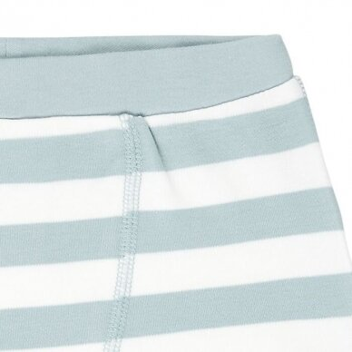 "Sense Organics trumpikių rinkinys ,,Aqua stripes"" 3"
