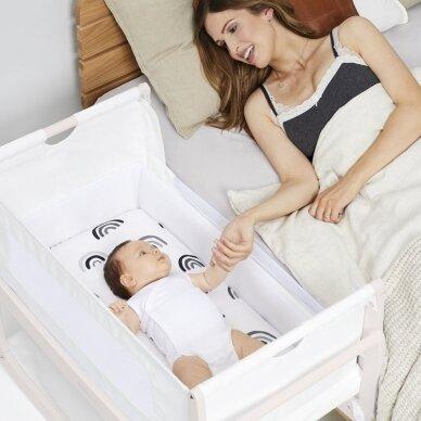 """SnuzPod⁴ lopšelis kūdikiui ,,Rose white"""" 2"""