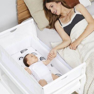"""SnuzPod⁴ lopšelis kūdikiui ,,White"""" 2"""