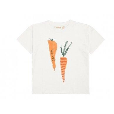 """Soft Gallery marškinėliai ,,Carrots"""""""