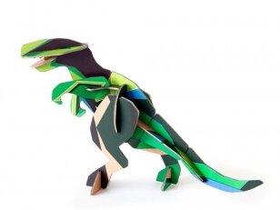 """Studio ROOF 3D totemas iš perdirbto kartono,,T-rex"""""""