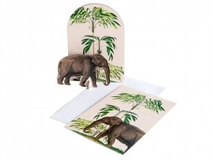 Studio ROOF pop-out atvirukas ,,Tropical elephant""